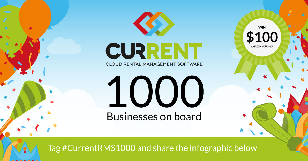 Tag #CurrentRMS1000 and share this page on Facebook and Twitter to enter our competition to be in with a chance of winning a $100 Amazon Voucher