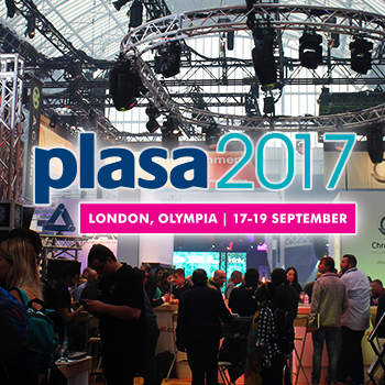 Catch Up With Us At PLASA London 2017!