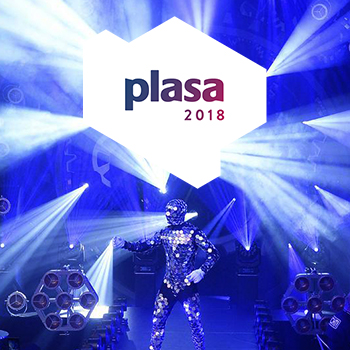 See the latest tech at PLASA London 2018
