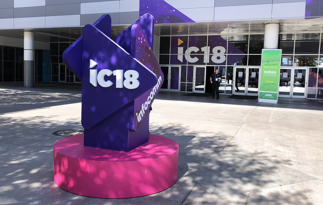 Almost 1,000 exhibitors were at this year's InfoComm show!