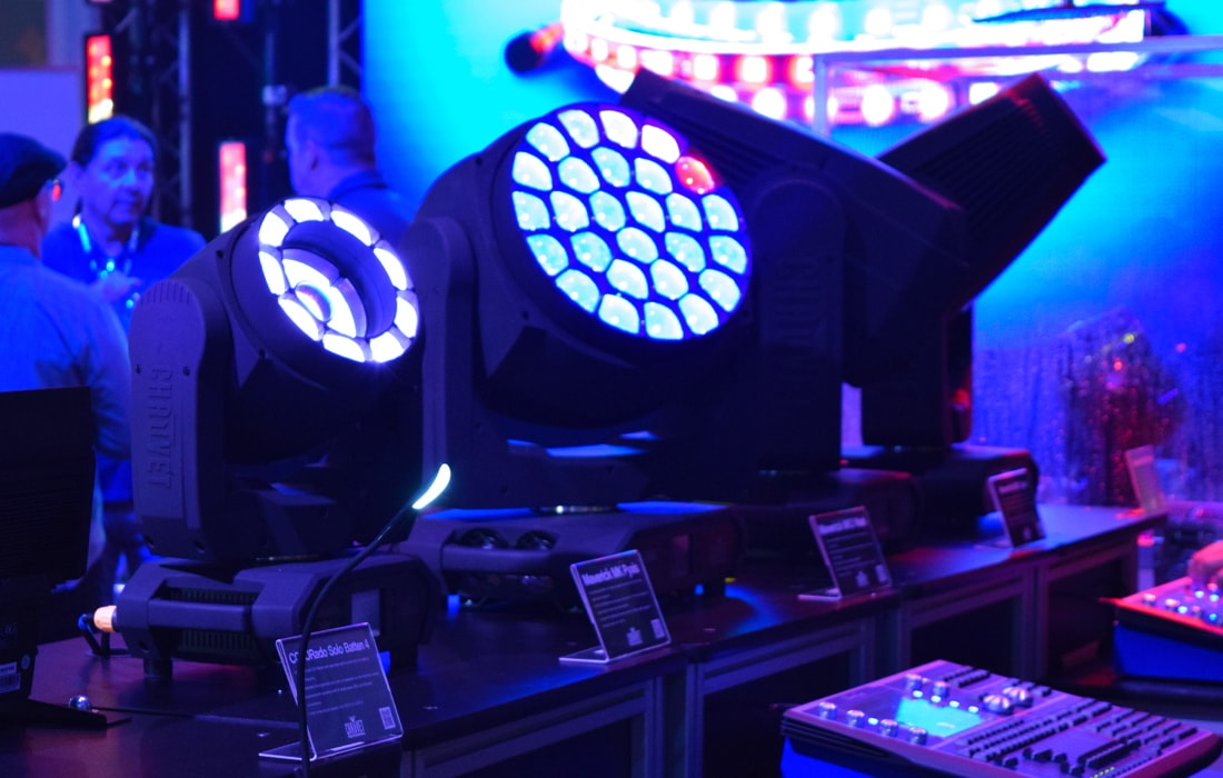 Chauvet Professional's Maverick MK Pyxis LED wash and beam fixture