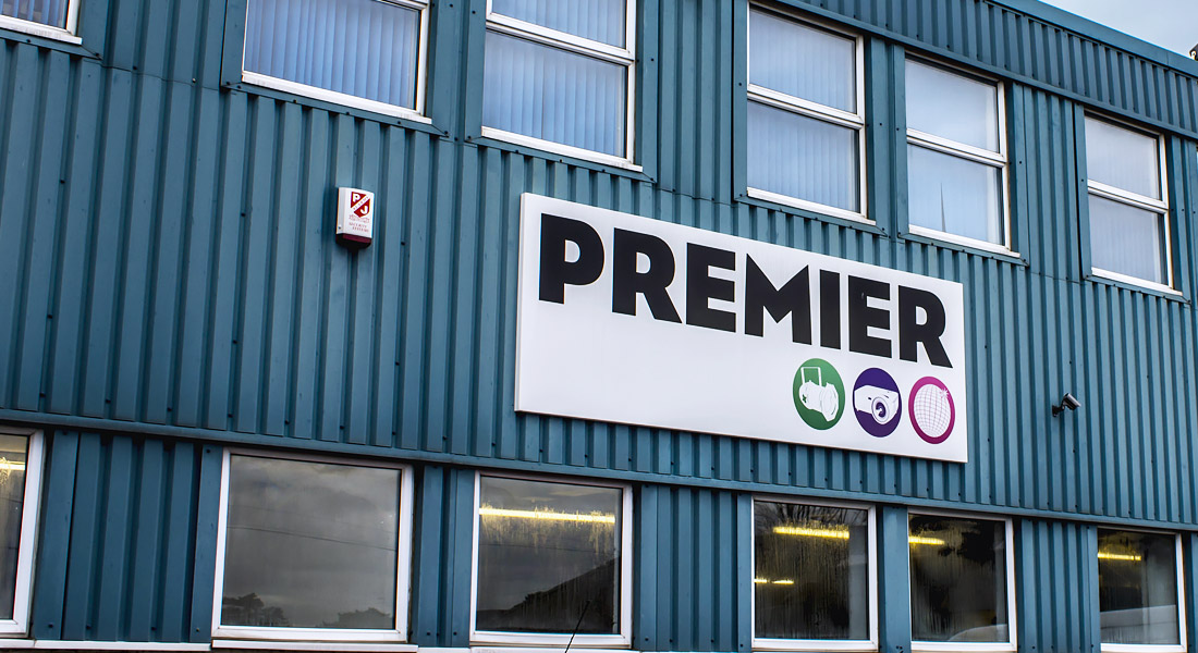 Premier UK Events Office in Leicester, UK.