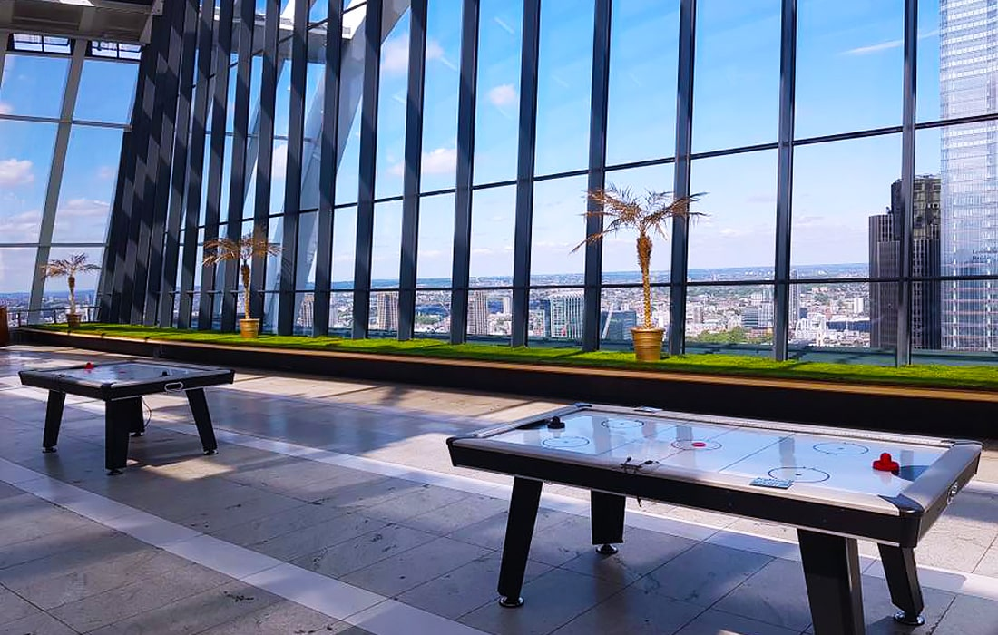 Xtreme's activity rentals takes their team to lots of amazing locations, including the Sky Garden in London!
