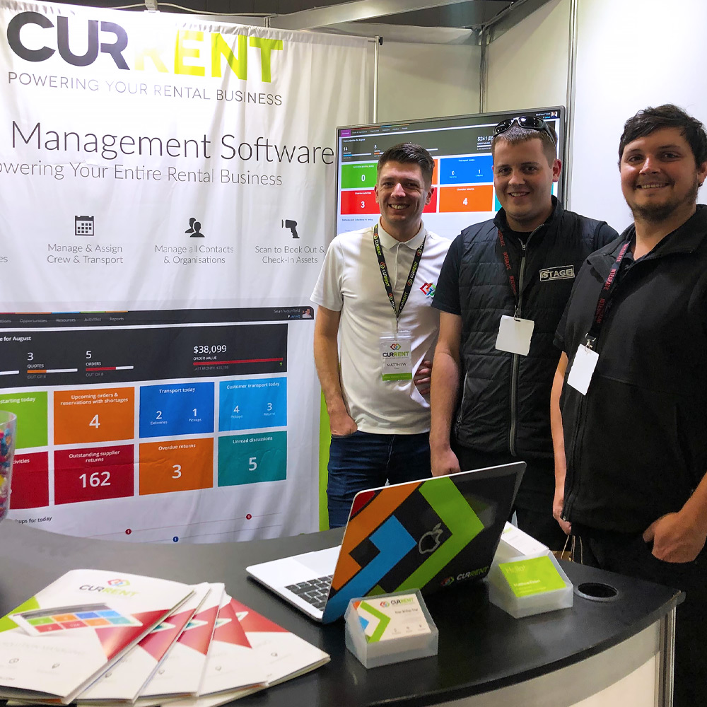 A great first time exhibiting at Integrate 2019!