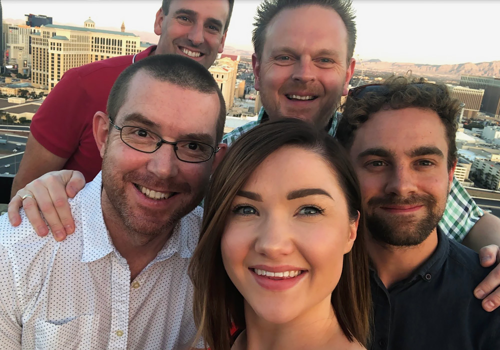 Current-RMS team on top of Rio Hotel Las Vegas