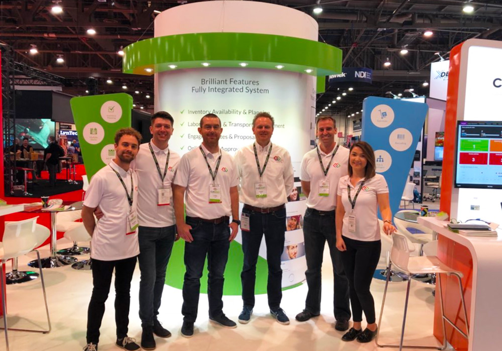 Current-RMS team at infoComm2018