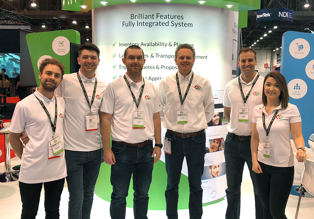 Current RMS team at infoComm 2018