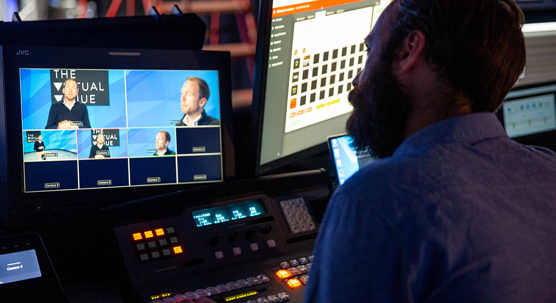 The Virtual Venue hosts the very best of live events technology