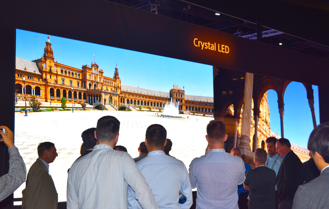 Crystal LED by Sony