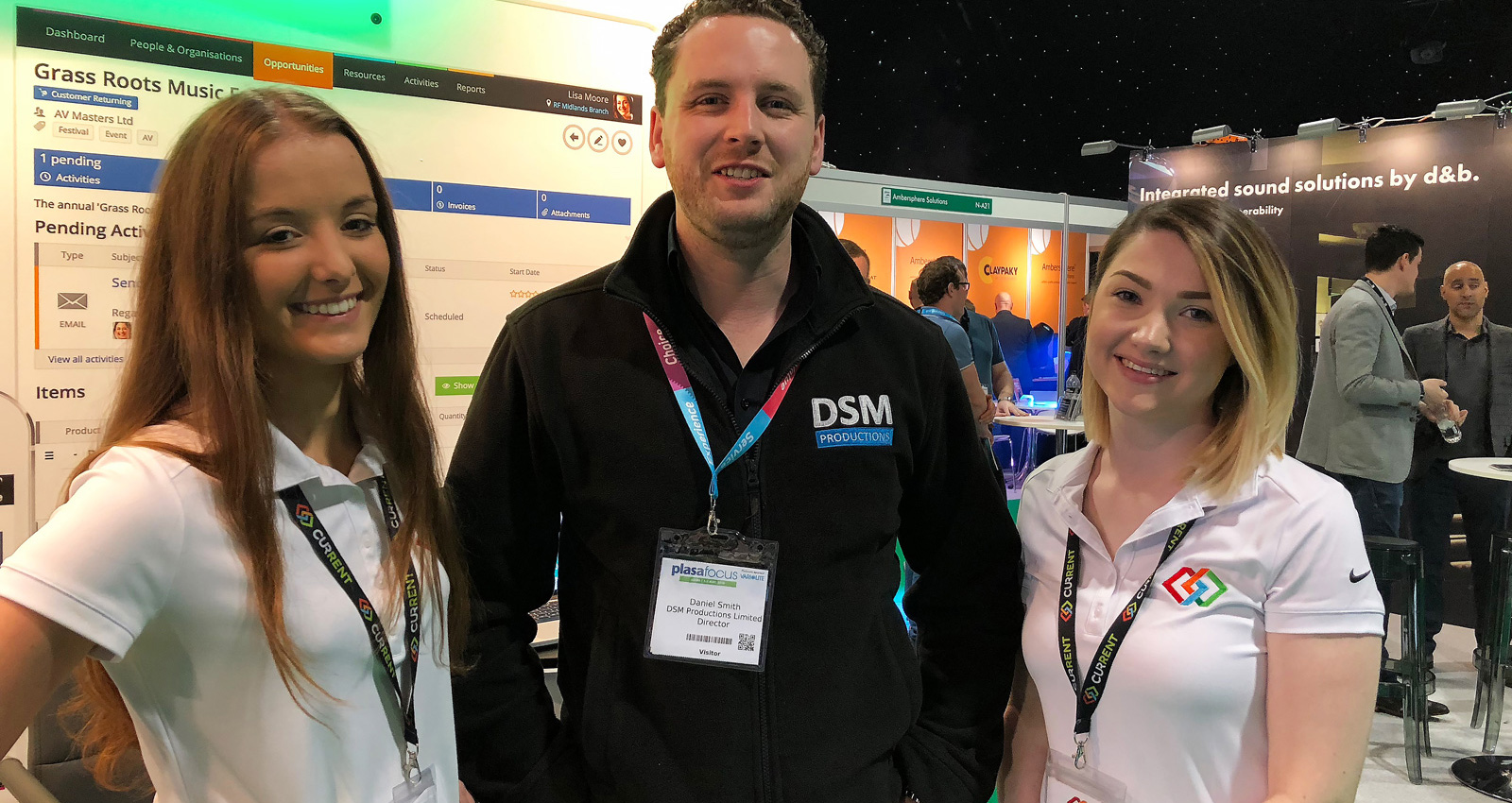DSM Productions dropped by to say hi to the Current RMS team