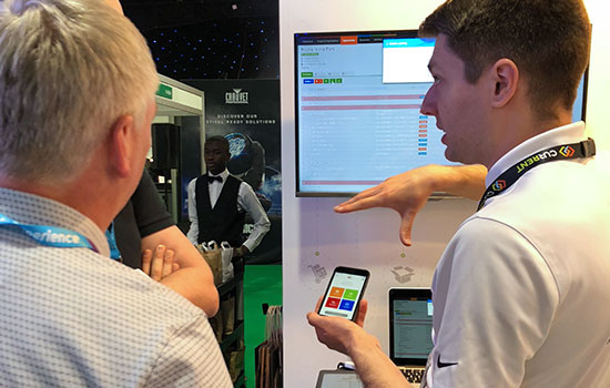 We received lots of great feedback on our new mobile scanning app from those who stopped by at the show